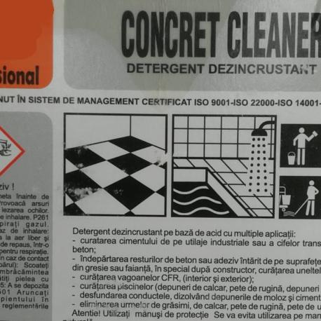 curatire beton